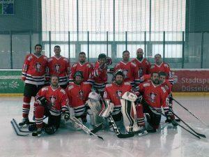 Mannschaft in Düsseldorf